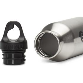 MIZU M4 Bottle with Black Print & Loop Cap 400ml Stainless